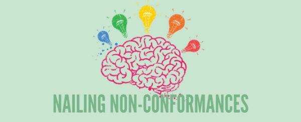 Nailing non-conformance
