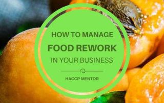 manage food rework