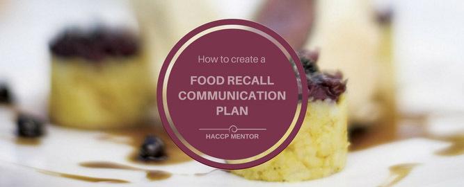recall communication plan